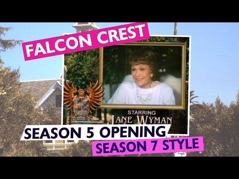 FALCON CREST  Season 5 meets Season 7 Version 1