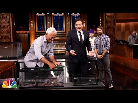 Jeremy Wade Brings River Monsters to Jimmy, Will Forte and Adam Horovitz