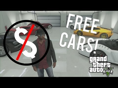GTA V ONLINE - HOW TO GET ANY CAR ONLINE FOR FREE! *NEW*