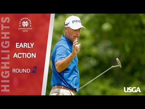 2019 U.S. Senior Open: Round 2 Early Highlights