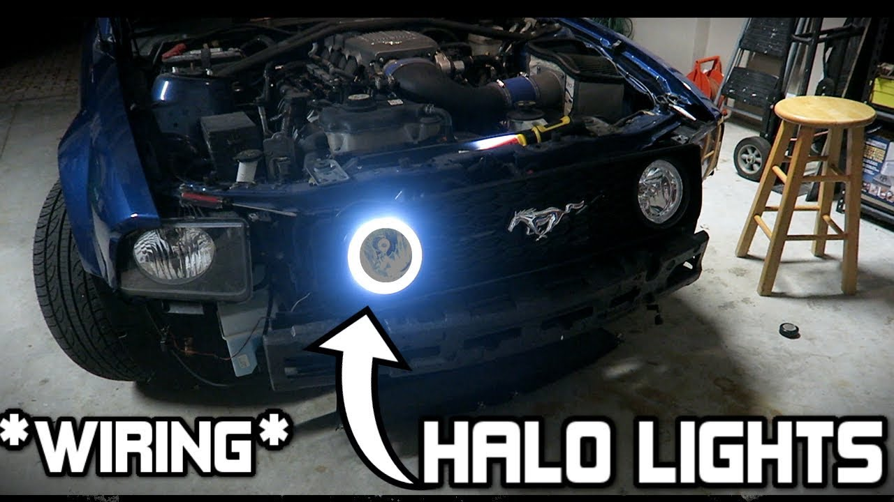 Installing halo fog lights on my brothers gt mustang 05 09 gt installing halo fog lights on my brothers gt mustang 05 09 gt mustang swarovskicordoba Gallery