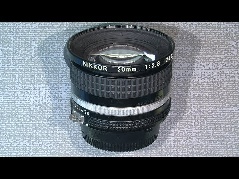 Oil on the aperture blades in Ai-s NIKKOR 20mm 1:2.8___PART 1