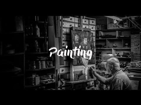 Cinematic Short of Artist at Work in His Studio - Fujifilm X-T2 with Zhiyun Tech Crane 2