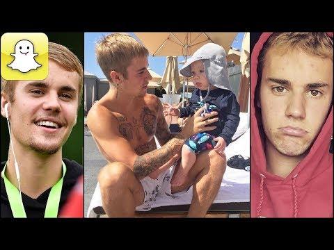 Justin Bieber - Snapchat Video Compilation (Best 2017★) #6
