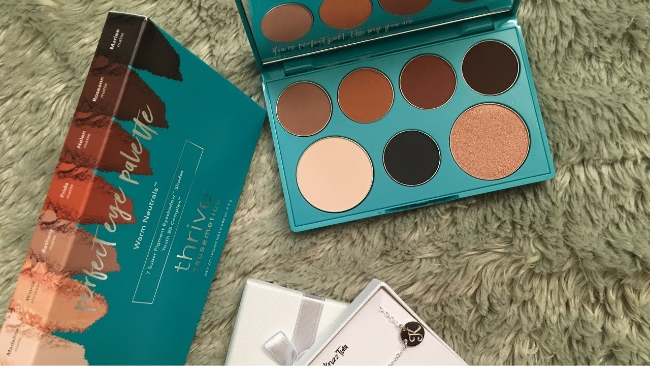 9ac59579a63 Thrivecausemetics Perfect Eye Palette | Demo & Review - YouTube