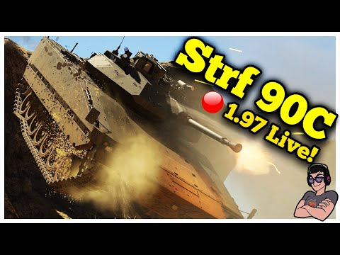 War Thunder - Strf 90C 1.97 Live! Casual Swedish Bias