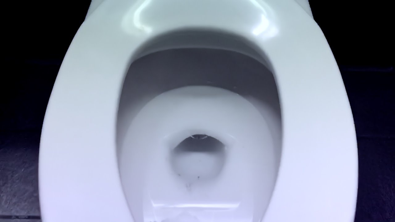 American Standard Afwall Toilet Flush (1986-1993 Model) - YouTube