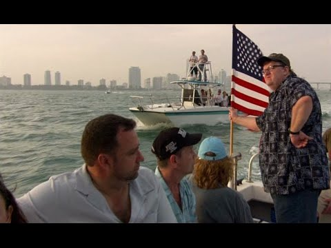 Michael Moore Takes 9/11 First Responders To Cuba For Free Healthcare | Sicko (2007)