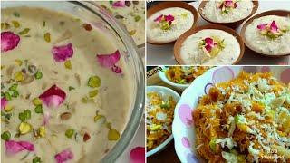 Eid Ke Liye Teen Behtareen Desserts | Sheer Khurma | Kimami Sewai | Shahi Phirni