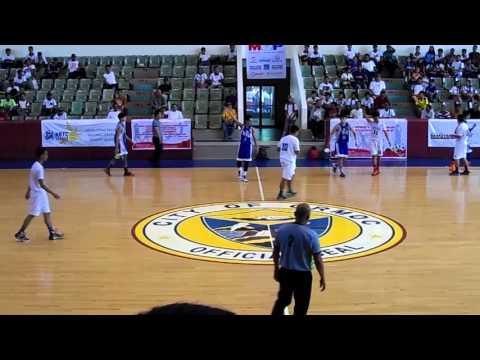 Mandaue vs Dumaguete - SM - NBTC Visayas Regional Championships 2016
