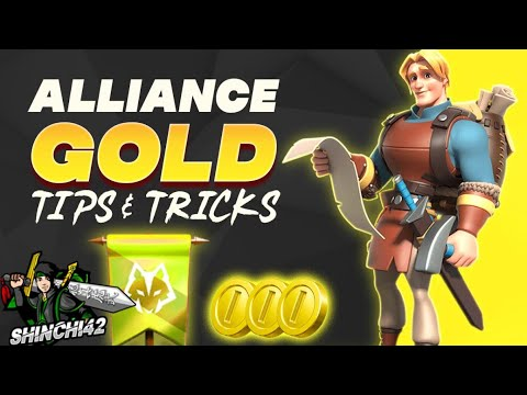 How to get alliance gold resources | Rise of Kingdoms