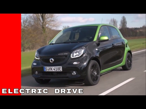 2017 Smart Fortwo & ForFour Electric Drive