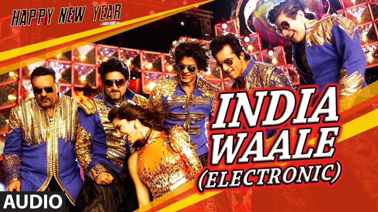exclusive india waale electronic full audio song happy new year shah rukh khan t series