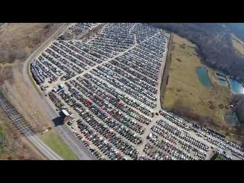 Stoystown Auto Aerial View