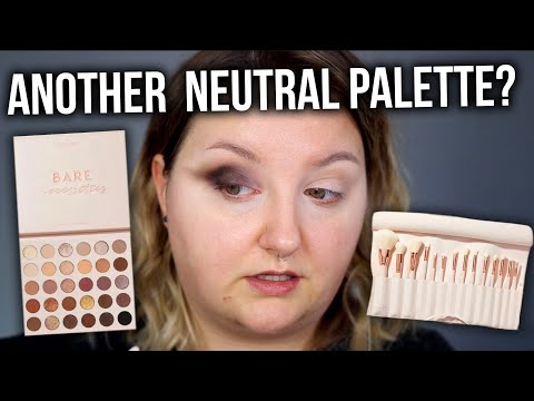 TESTING THE COLOURPOP BARE NECESSITIES PALETTE & BRUSHES
