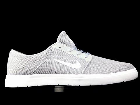 ce839e268bf Nike SB Portmore Ultralight gris