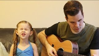I'M A BELIEVER - SHREK SOUNDTRACK (COVER BY 5-YEAR OLD CLAIRE AND DAD)