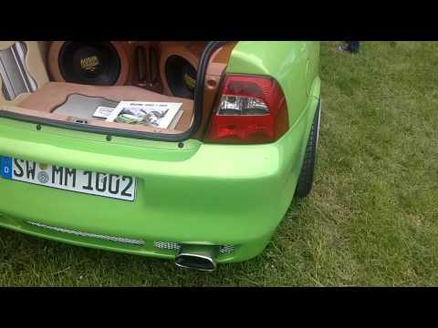 Opel Vectra B Tuning Opeltreffen Schopfloch 2015