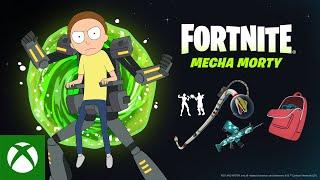 Mecha Morty Joins Fortnite