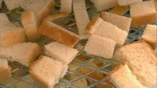 Dehydrating Pound Cake, Raisin Bread, And Other Breads