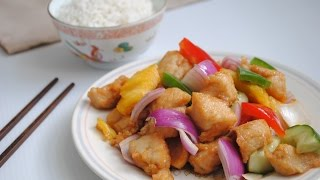 Sweet and sour chicken - Easy Chinese Recipe