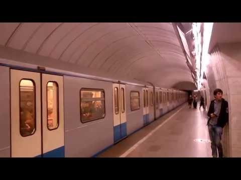 Станция метро Цветной бульвар, Электропоезд 81-760 Ока