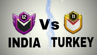🔴 LIVE CLAN WAR | INDIA VS TURKEY