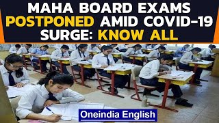 Maharashtra board exams postponed as state records over 63,000 Covid-19 cases in a day|Oneindia News