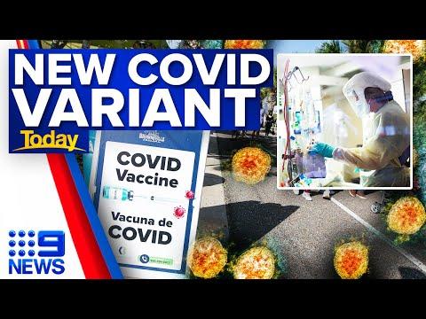 New COVID-19 variant in US   Coronavirus   9 News Australia