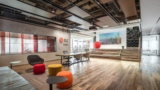 Welcome to our new JLL Shanghai office!