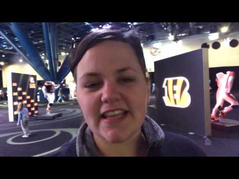 NFL EXPERIENCE SUPER BOWL LI HOUSTON - Growing Daily | Family Daily Vlog