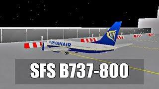 ROBLOX | SFS Flight Simulator | Ryanair Boeing 737-800