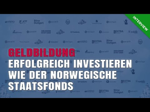 Geldbildung: Erfolgreich Investieren Wie Der Norwegische Staatsfonds