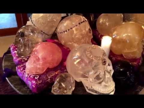 13 CRYSTAL SKULLS from The Crystal Enchantress - Krystina L Valentine