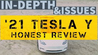 2021 Tesla Y HONEST Complete Review 4K Driving Controls Issues Imperfections Detailed Comprehensive