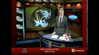 "Clayton Conness KOMU-TV 8 ""Sports Anchoring January 6, 2013"""