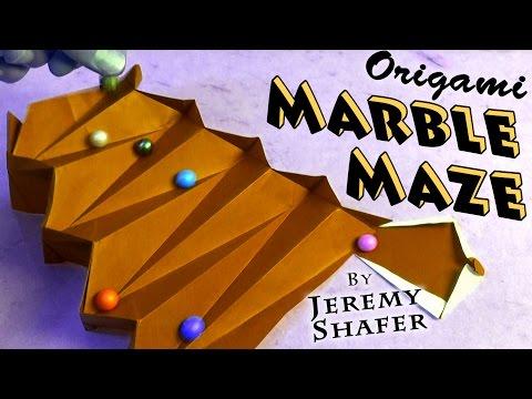 Origami Marble Maze