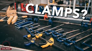 The Science Behind Clamps - How Much Pressure? How Many? What Type?