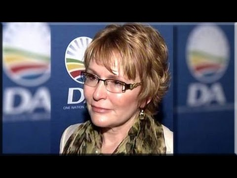 Helen Zille briefs media post DA federal Exec meeting