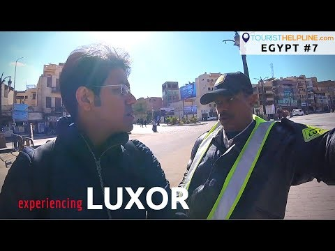 Egypt: How Police and people treat an Indian tourist !!
