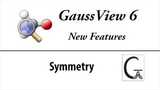 GaussView 6 New Features: Symmetry