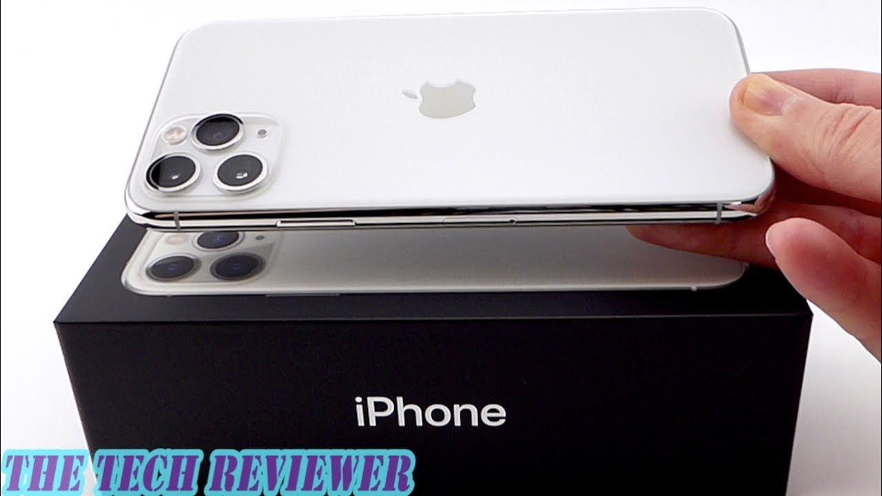 Unboxing the iPhone 11 Pro Silver\u2026or White?
