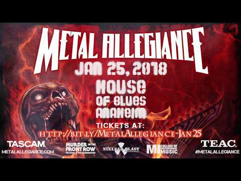 METAL ALLEGIANCE - January 25th at the Anaheim House of Blues (OFFICIAL TRAILER)
