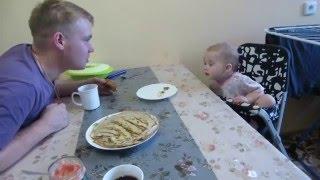 Разговор с отцом..дети жгут