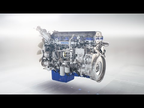 Volvo Trucks – How The New D13TC Engine Cuts Fuel Consumption While Increasing Power