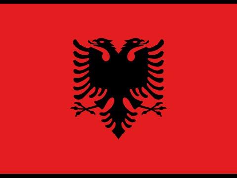 """Albania National Anthem """"Himni i Flamurit"""" """"Hymn to the Flag"""""""