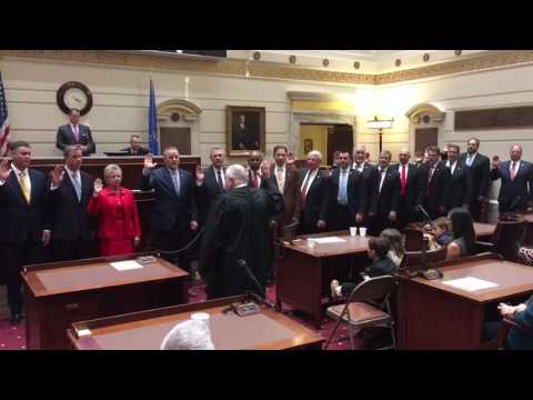 Oklahoma Senate: Oath of Office Ceremony 2016