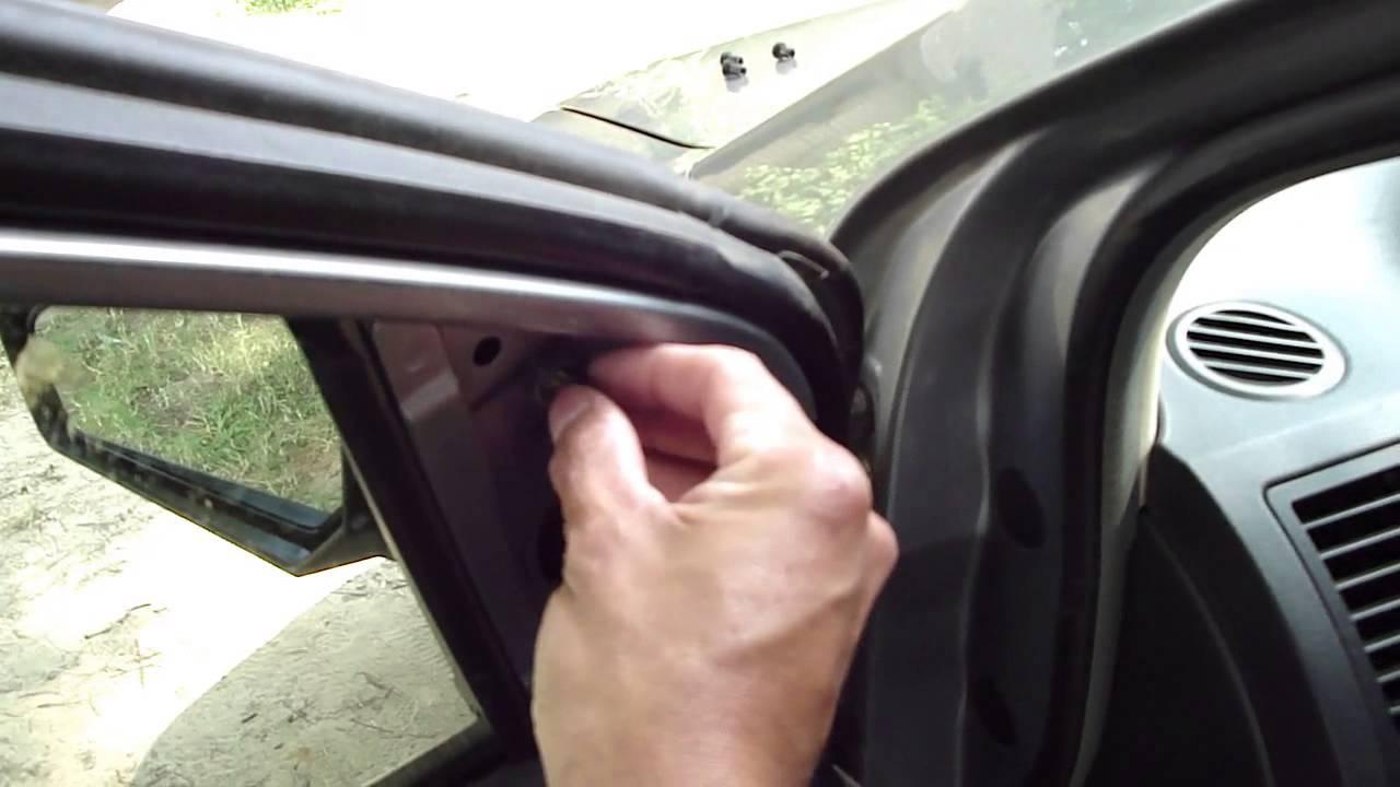 09 Nissan Sentra Espejo Retrovisor Youtube