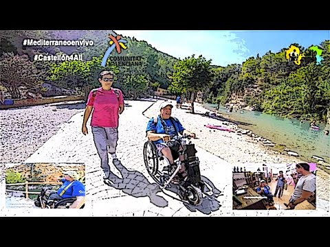 Montanejos, Navajas and Segorbe in Castellón with wheelchair
