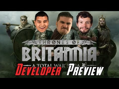 AJ's Total War: Thrones of Britannia Developer Preview!